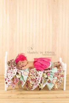 Single Bed - Newborn Baby Photography Prop