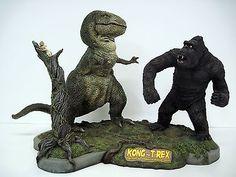 King Kong Tyrannosaurus Rex | KING-KONG-1933-Gillman-Prods-KONG-VS-T-REX-Tony-Cipriano-PRO-BUILD-UP ...