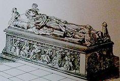 Blanka Francouzská, manželka Rudolfa I. Habsburského, král českého a polského a vévody rakouského