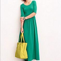 Garnet Hill Maxi Dress