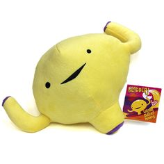 Bladder Plush. I didn't exactly laugh out loud but this is funny and odd and strangely cute, not your run of the mill stuffed animal lol
