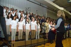 Upper School Choir sings at Founder's Day. January 2014