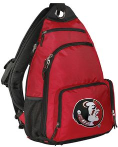 Florida State Backpack COMFORTABLE FSU Single Strap Backpacks *** Read more reviews of the product by visiting the link on the image. (This is an Amazon Affiliate link and I receive a commission for the sales)