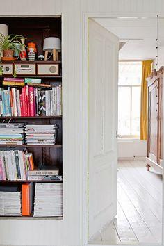 Portes ouvertes: un appartement coloré à Amsterdam | Buk & Nola