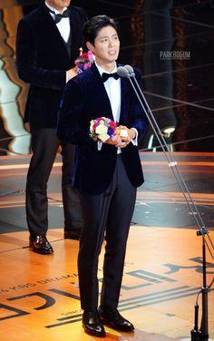 박보검 161231 KBS 연기대상 [ 출처 : 디시 박보검갤러리 ]