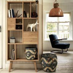 Oak Shelving Unit - Cabinets & Shelving - Furniture - Furniture