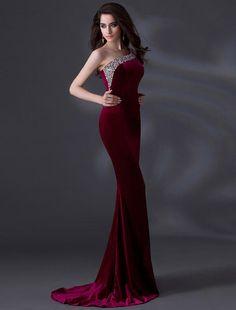 wonderful velvet evening  dresses for women (22)