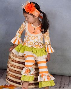 Giggle Moon clothing Thankful Hearts Swing Set Fall 2014 Preorder