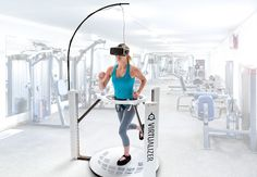 Treadmill Exercises Promote Brain Plasticity In Parkinsons - A New Study Suggests That A Therapy That Combines Virtual Reality And Treadmill Exercise Dramatically Lowers The Incidence Of Falling Among Parkinsons Patients By Changing The Brains Behav Virtual Reality Education, Virtual Reality Systems, Virtual Run, Virtual World, Technology World, Science And Technology, Medical Technology, Energy Technology, Jogging In Place