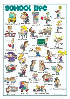 School Life Picture Dictionary, #englishvocabulary