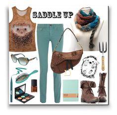 """""""Saddle Up!"""" by ixela ❤ liked on Polyvore"""