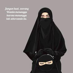 Motivasi Hidup Kartun Hijaber Muslimah Muslim Quotes, Islamic Quotes, Quotes Rindu, Hijab Cartoon, Quotes Galau, Hana, Chanyeol, Tumbler, Poems