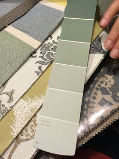 Prestigous Textiles Fabric combination used in a Living Room project