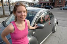 Erin Davies Turns A Hate Crime Around On The 11th Annual National Day of Silence in 2007