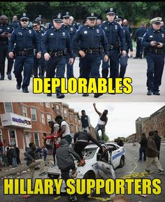 President Trump supports Law Enforcers.