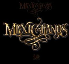 Chicano Lettering Tattoo Lettering Design, Chicano Lettering, Graffiti Lettering, Tattoo Fonts, Typography Letters, Chicano Love, Chicano Art, Mexican Art Tattoos, Indian Tattoos