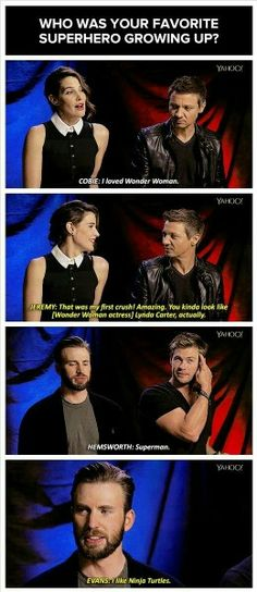 Chris Evans everyone