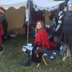 Today was a loooooong day. Good, though! #larp #armour #armor #winterfest #medieval #sydney #accessories #sca #hmb #armstreet #reenactment #livinghistory #knight