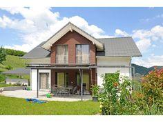 Design 147 - #Einfamilienhaus von Frammelsberger R. Ingenieur-Holzbau GmbH   HausXXL #Blockhaus #modern #Satteldach