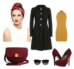"""Beauty"" by mery66 ❤ liked on Polyvore featuring Michael Antonio, The Code, Miu Miu, WearAll and Ray-Ban"