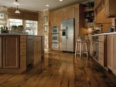 Sunset Sand Hickory Hardwood Floors by Armstrong
