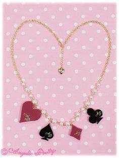Angelic Pretty: 2012 Queen Trump Necklace