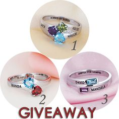 hi friend,we are holding #free #giveaway on facebook https://www.facebook.com/jewelora/photos/a.1079097485446843.1073741828.979516182071641/1372294432793812/?type=3&theater  #birthstone #ring #gift #names #April #March #personalized