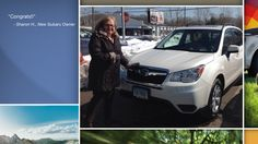 Dear Sharon Hurd   A heartfelt thank you for the purchase of your new Subaru from all of us at Premier Subaru.   We're proud to have you as part of the Subaru Family.