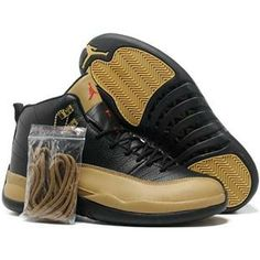 http://www.anike4u.com/ Nike Air Jordan 12 XII Men Shoes in Black and Brown with Nice Box