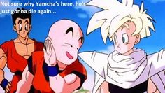 that's pretty rich coming from Krillin haha