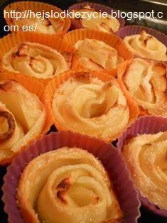 rosas de hojaldre:)mniam:)