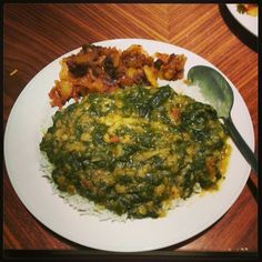 Cooking 101: Dal Palak (Tangy Indian Spinach and Lentils)