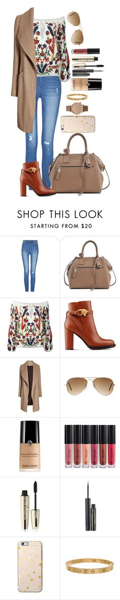 """Untitled #1631"" by fabianarveloc on Polyvore featuring Marc Jacobs, Alice + Olivia, Valentino, Ray-Ban, Anastasia Beverly Hills, L'Oréal Paris, Elizabeth Arden, Cartier and Komono"