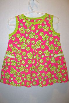 Super cute Lilly Pulitzler baby dress for sale on Ebay. Too cute!