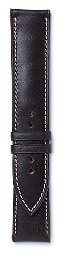dark brown leather strap with beige stitching available in or Maurice de Mauriac doesn't just stand for exclusive, mechanical boutique watches, but also for exquisite leather. Swiss Made Watches, Dark Brown Leather, Leather Accessories, Beige
