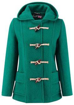 Coats - Weekend 20 Best: green duffle coat
