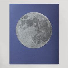 Silver Moon Print (Large)