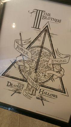 Harry Potter Tattoo idea  #HPtattoo #deathlyhallows #threebrothers