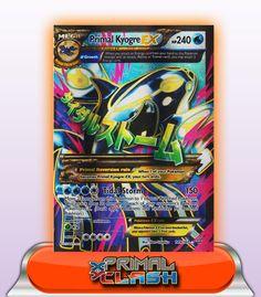 MEGA PRIMAL KYOGRE EX FULL ART HP240 - 149/160