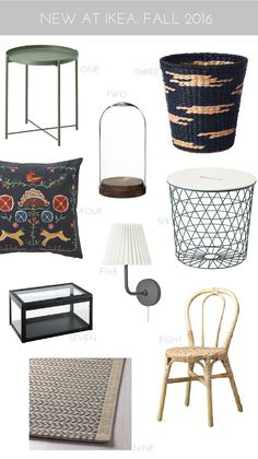 9 New (Really Good) Decorating Pieces At IKEA -FALL 2016