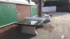 Pingpongtafel Afgerond Groen bij De Leertrommel in Opwijk