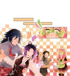 """Incident at the cafe [ 3 ]"" Slayer Meme, World Of Gumball, Blue Garden, Demon Hunter, Manga, Anime Ships, Anime Comics, Marvel, Rwby"