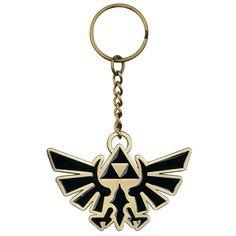 Fan del mondo di #Zelda, drizzate le orecchie. Se non ne avete ancora avuto abbastanza dell'eroe Link e della principessa Zelda, ecco a voi gli orecchini per portare sempre con voi la leggenda. Orecchini pendenti a forma del leggendario simbolo Royal Crest. Pendente: lu.: 5,3 cm, l. 6 cm.