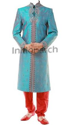 garba look. Just the turquoise with cream or white lengha would look good!
