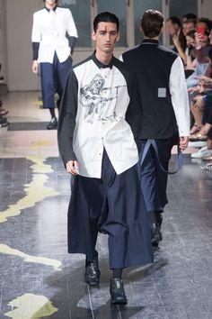 Yohji Yamamoto Spring Summer Primavera Verano 2016 Collection #Menswear #Trends #Tendencias #Moda Hombre - Paris Fashion Week - D.P.