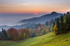 50 natural destinations which should always be fall - Slovenia the third most forested country in Europe