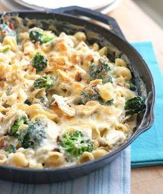 Chicken & Broccoli Pasta Skillet Dinner