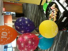Some balloons and mini cupcakes to celebrate Pivotal's 10th birthday! They grow up so quickly don't they? http://www.pivotalpayments.com/