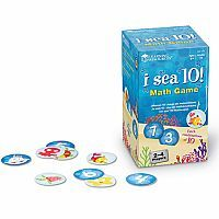 "I Sea 10 - The skill of ""making a ten"" is extremely important in the Common Core Standards.  1st and 2nd graders will love playing this game!"