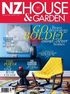Nz House & Garden July 2016 Issue- Go Boldly  #NzHouseandGarden #HomeDecorators #HomeTrends #ebuildin